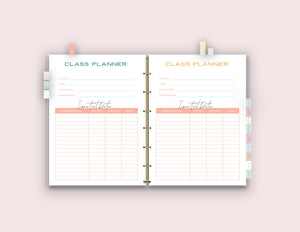 Printable College Organization Binder {58 Pages}