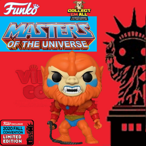 "Masters of the Universe – Beast Man 10"" NYCC 2020 US Exclusive Pop! Vinyl [RS]"