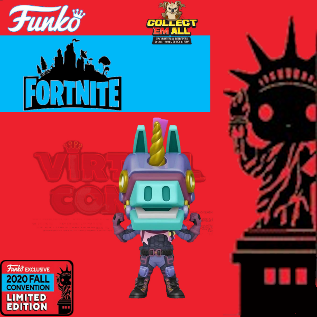 Fortnite – Bash NYCC 2020 US Exclusive Pop! Vinyl [RS]