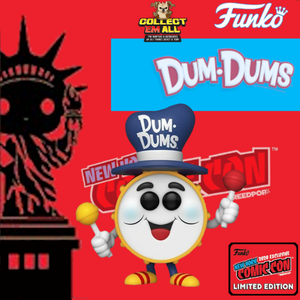 Ad Icon –  Dum Dums Drum Fall Convention 2020 NYCC  Funko Shop Exclusive Pop! Vinyl [IMPORTED]