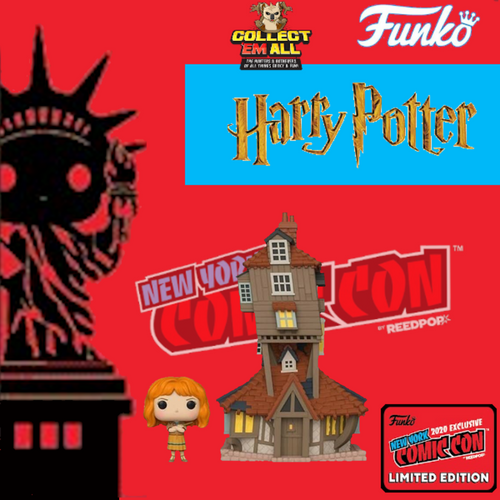 Harry Potter – The Burrows Fall Convention 2020 NYCC Exclusive Pop! Vinyl [IMPORTED]