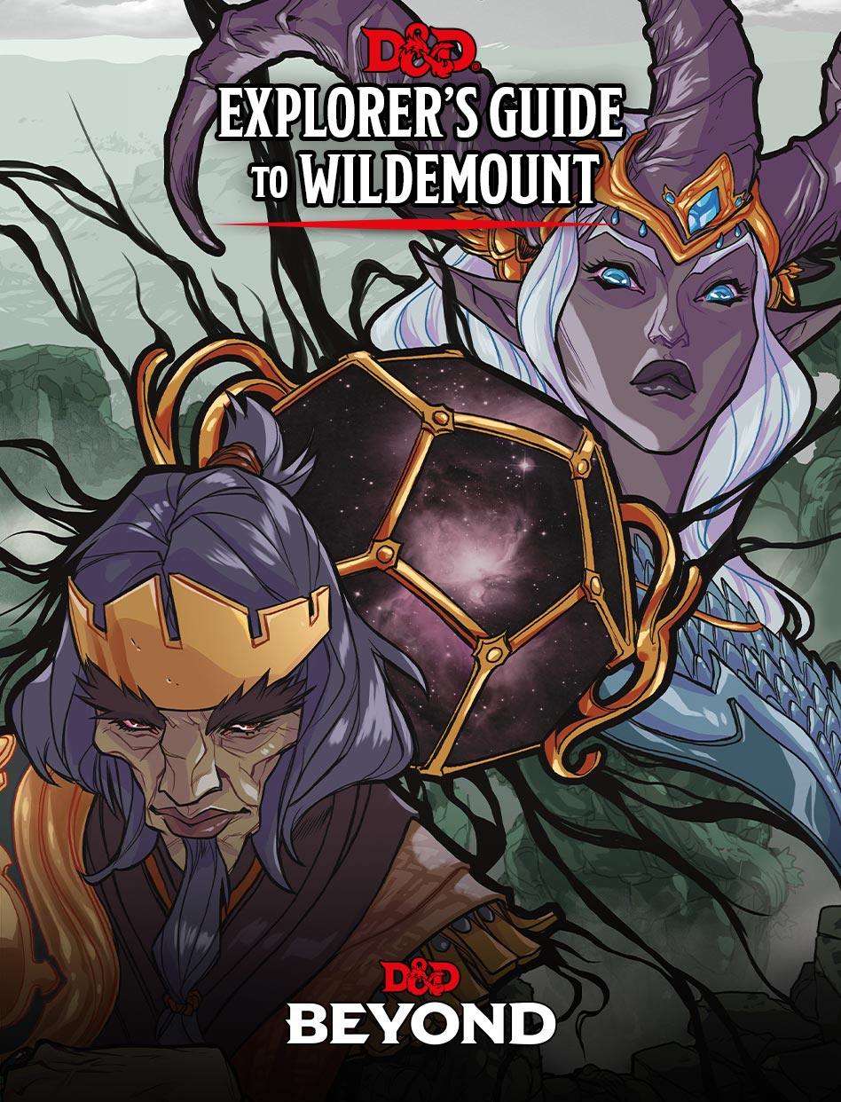 Dungeons & Dragons (D&D) - Explorer's Guide to Wildemount