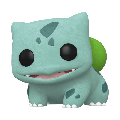 Pokemon – Bulbasaur Flocked ECCC 2020 US Exclusive Pop! Vinyl [RS]