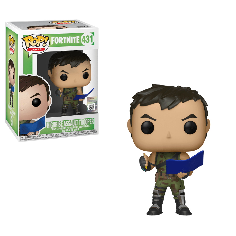 Fortnite - Highrise Assault Trooper Pop! Vinyl