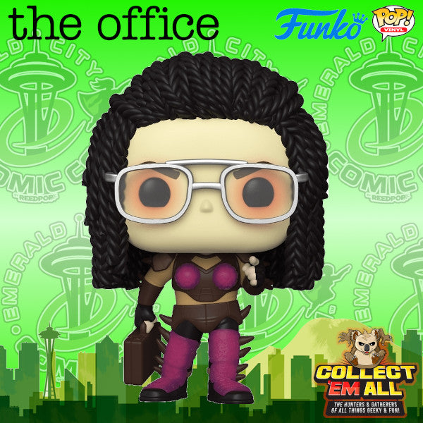 The Office - Dwight as Kerrigan ECCC 2021 Shared Exclusive Pop! Vinyl
