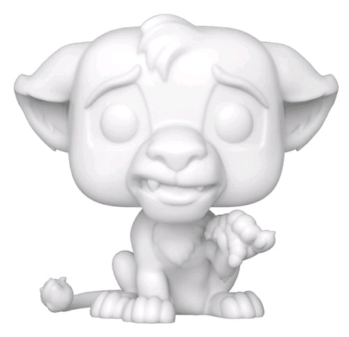 Lion King - Simba DIY Pop! Vinyl