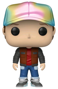 Back to the Future - Future Marty Metallic US Exclusive Pop! Vinyl [RS]