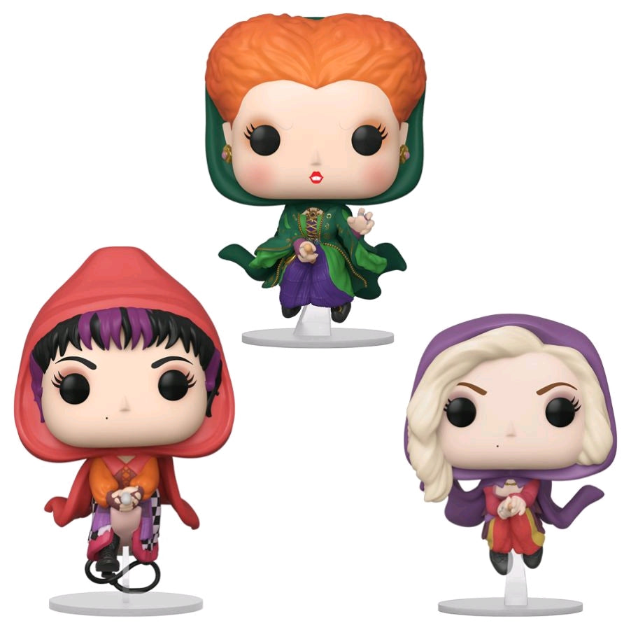 Hocus Pocus - Sanderson Sisters Flying US Exclusive Pop! Vinyl 3-Pack [RS]