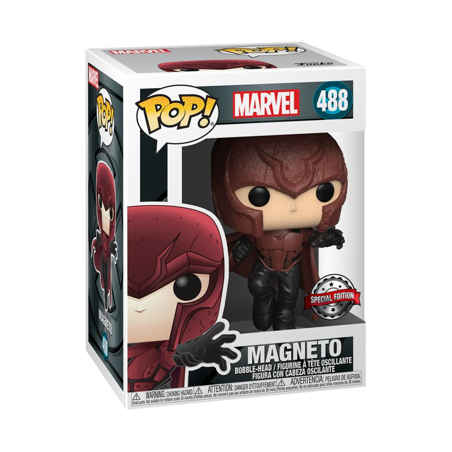 X-Men (2000) - Young Magneto 20th Anniversary US Exclusive Pop! Vinyl [RS]