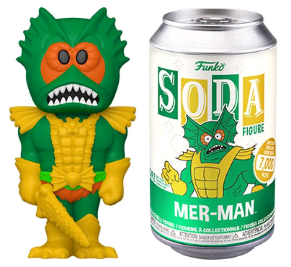Masters of the Universe - Mer-Man (with 1/6 chase) Vinyl Soda