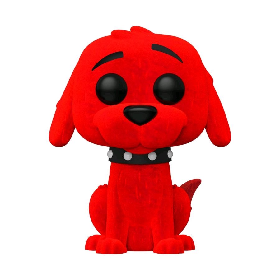 Clifford the Big Red Dog - Clifford Flocked US Exclusive Pop! Vinyl [RS]