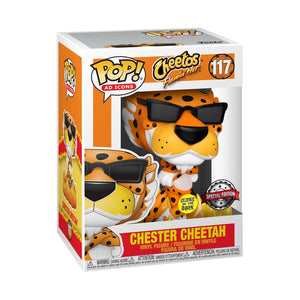 Ad Icons - Cheetos Flaming Hot Chester Glow US Exclusive Pop! Vinyl [RS]