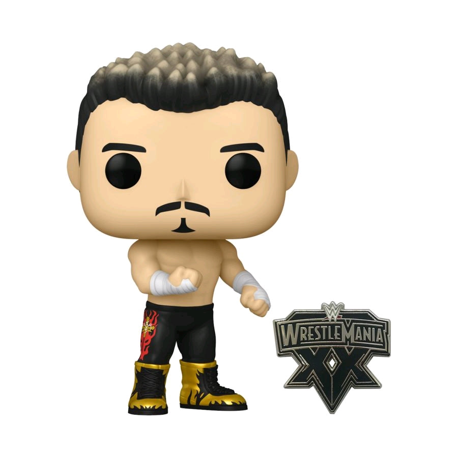 WWE - Eddie Guerrero US Exclusive Pop! with Pin [RS]