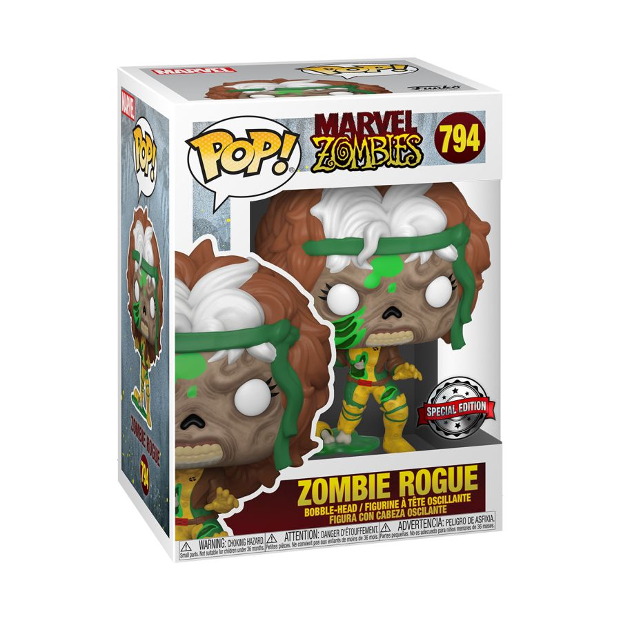 [Pre-Order] Marvel Zombies - Rogue US Exclusive Pop! Vinyl [RS]