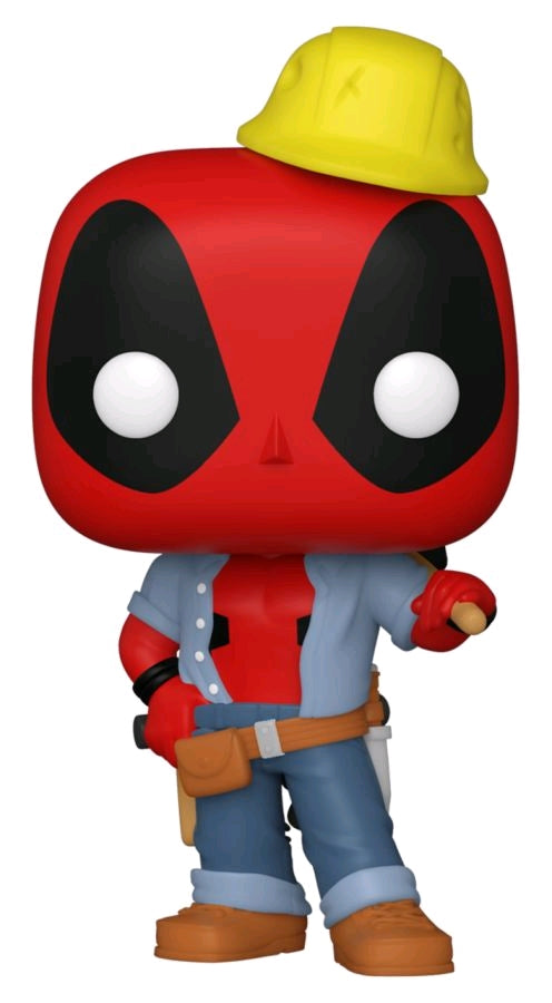 [Pre-Order] Deadpool - Construction Worker Deadpool 30th Anniversary US Exclusive Pop! Vinyl [RS]