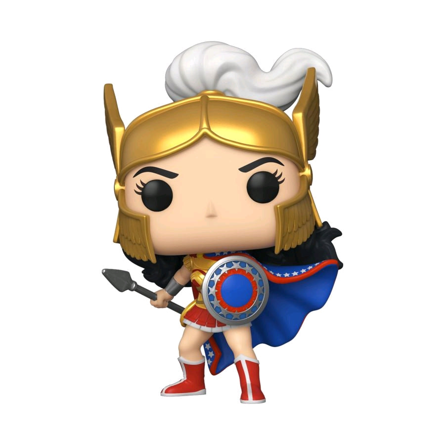 [Pre-Order] Wonder Woman - Challenge of the Gods 80th Anniversary Pop! Vinyl