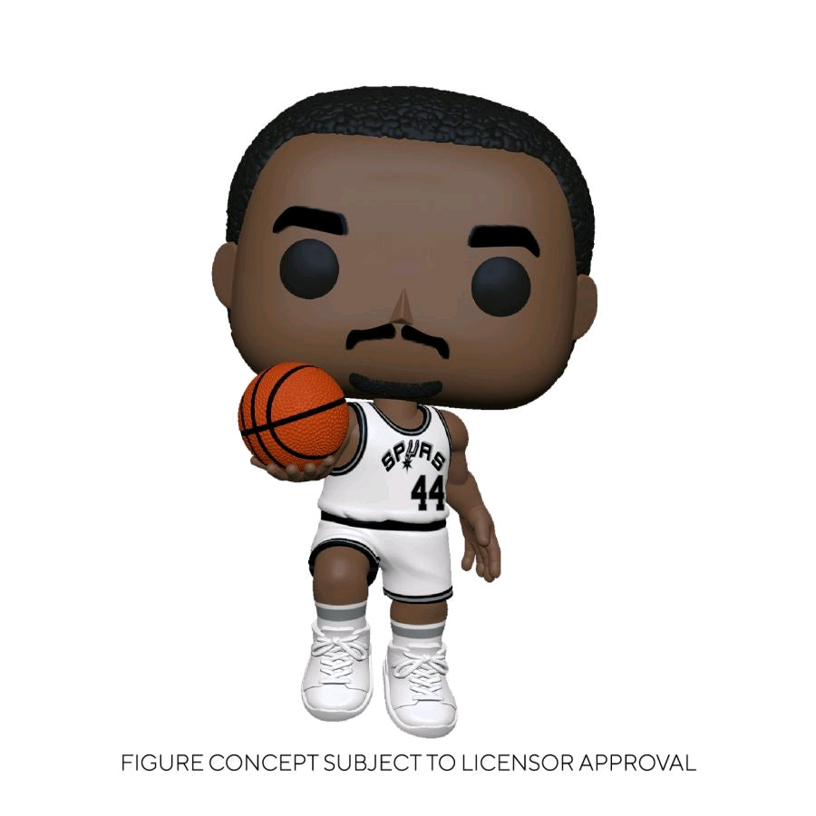 [Pre-Order] NBA: Legends - George Gervin (Spurs Home) Pop! Vinyl