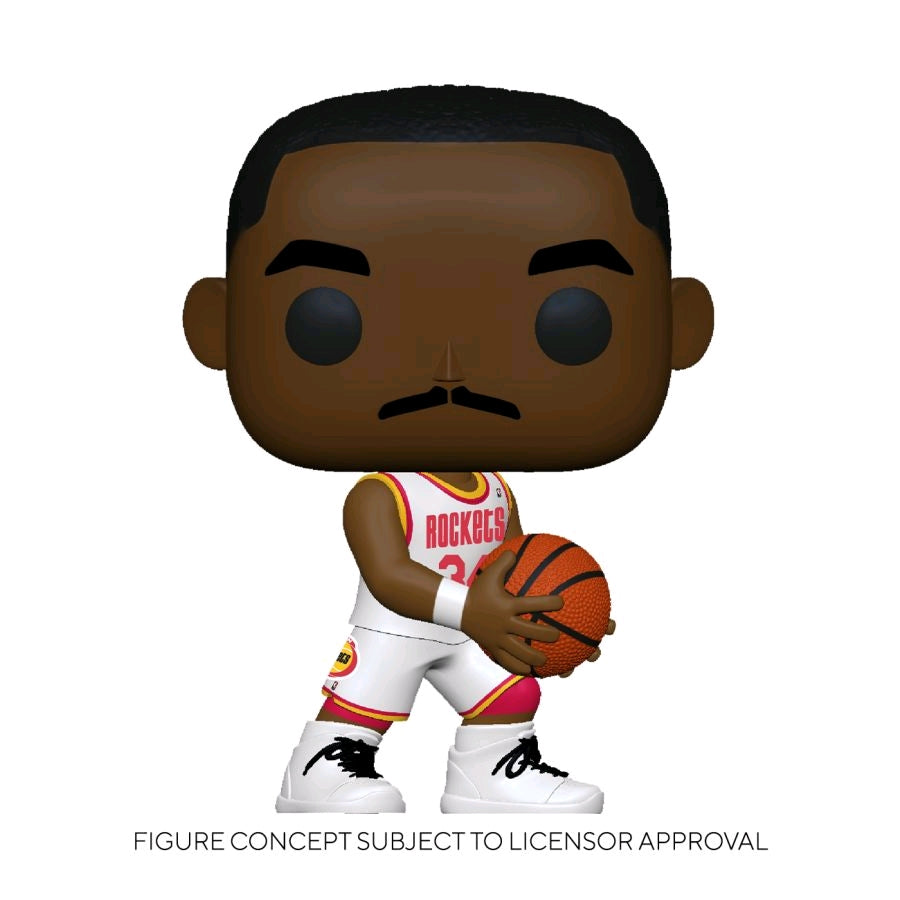 [Pre-Order] NBA: Legends - Hakeem Olajuwon (Rockets Home) Pop! Vinyl