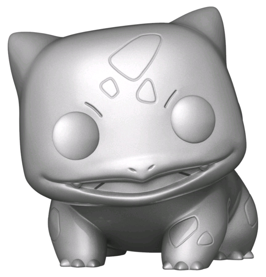 Pokemon - Bulbasaur Silver Metallic 25th Anniversary Pop! Vinyl [RS]