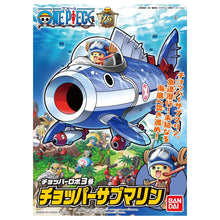 Load image into Gallery viewer, Bandai CHOPPER ROBOT 3 CHOPPER SUBMARINE