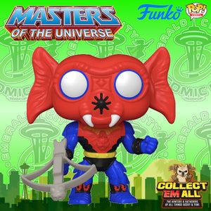 Masters of the Universe - Mantenna ECCC 2021 Shared Exclusive Pop! Vinyl