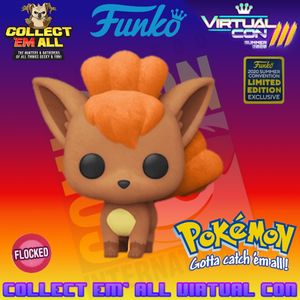 Pokemon – Vulpix Flocked SDCC 2020 US Exclusive Pop! Vinyl [RS]