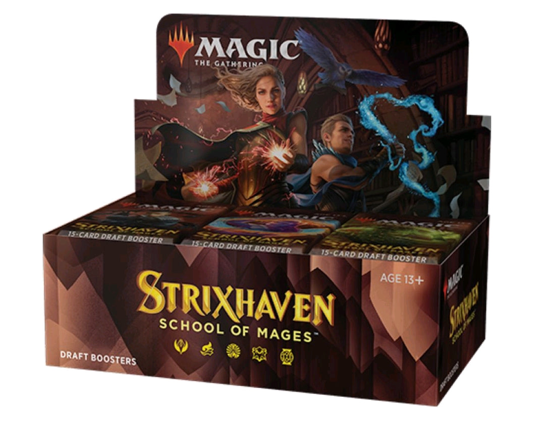 Magic the Gathering - Strixhaven: School of Mages Draft Booster Box