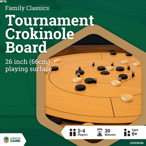 [Let's Play Games] Tournament Crokinole Board