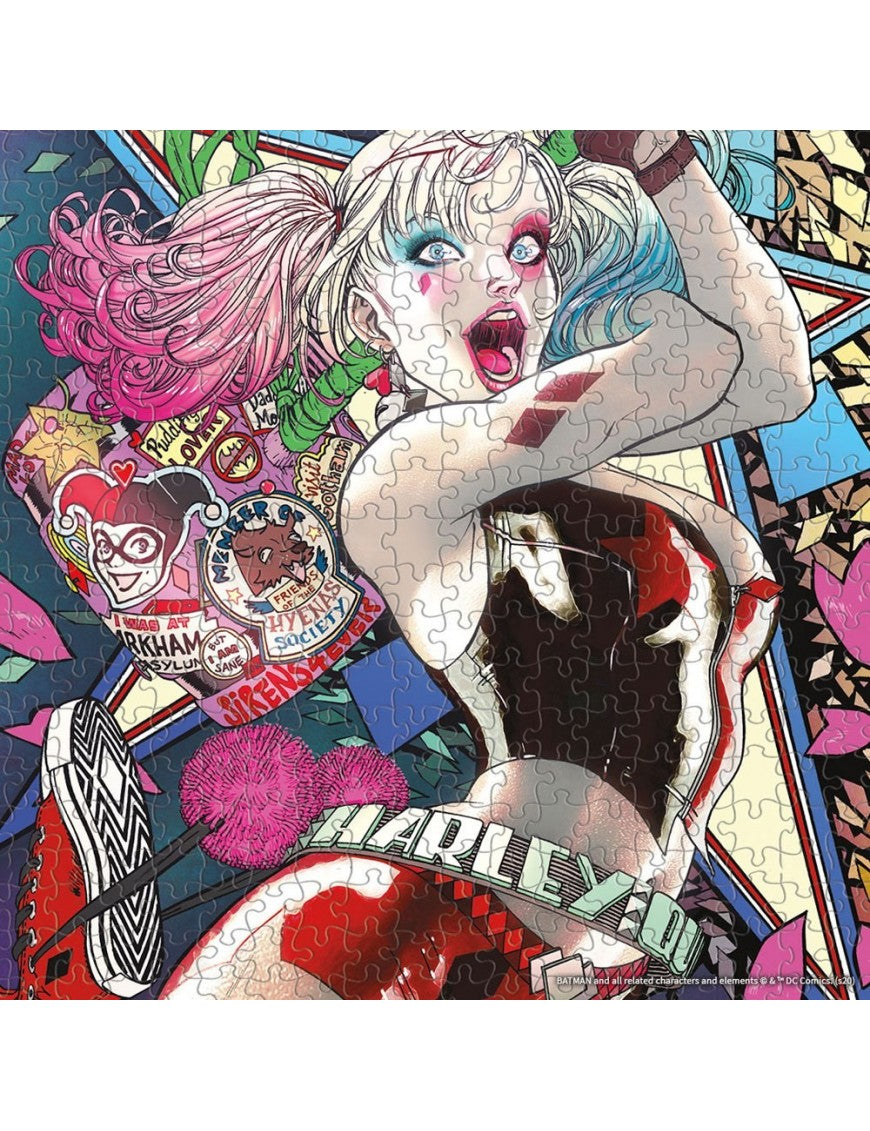 DC Comics Harley Quinn Die Laughing Puzzle 1,000 Piece Puzzle