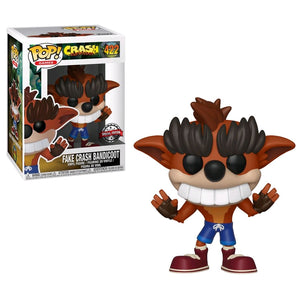 Crash Bandicoot - Fake Crash Bandicoot US Exclusive Pop! Vinyl