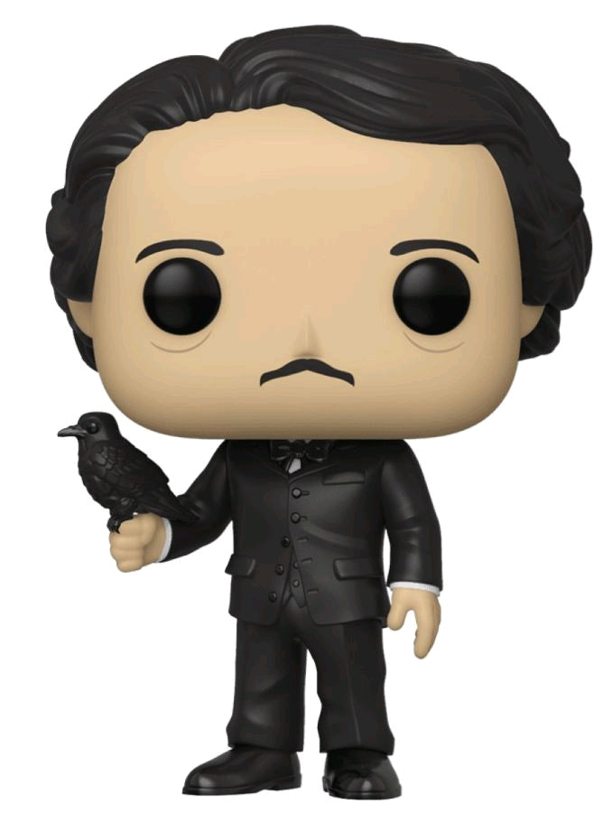 Pop Icons - Edgar Allan Poe with Raven US Exclusive Pop! Vinyl [RS] (NON STICKERED)