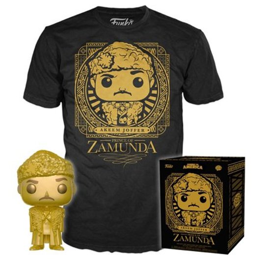 Coming To America Akeem Joffer Prince Of Zamunda T-Shirt And Funko (Target Sticker)