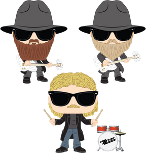 ZZ TOP - Legs POP! VINYL BUNDLE (SET OF 3)