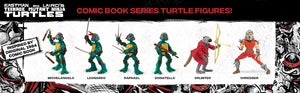 TMNT Teenage Mutant Ninja Turtles Original Comic Book Action Figures Limited Edition Bundle Pack