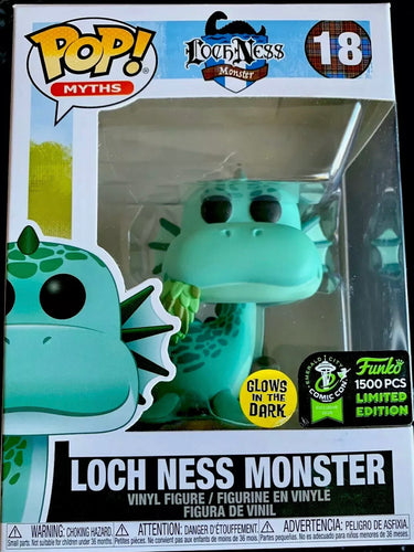 Loch Ness Monster #18 Funko Pop! Eccc 2020 GITD