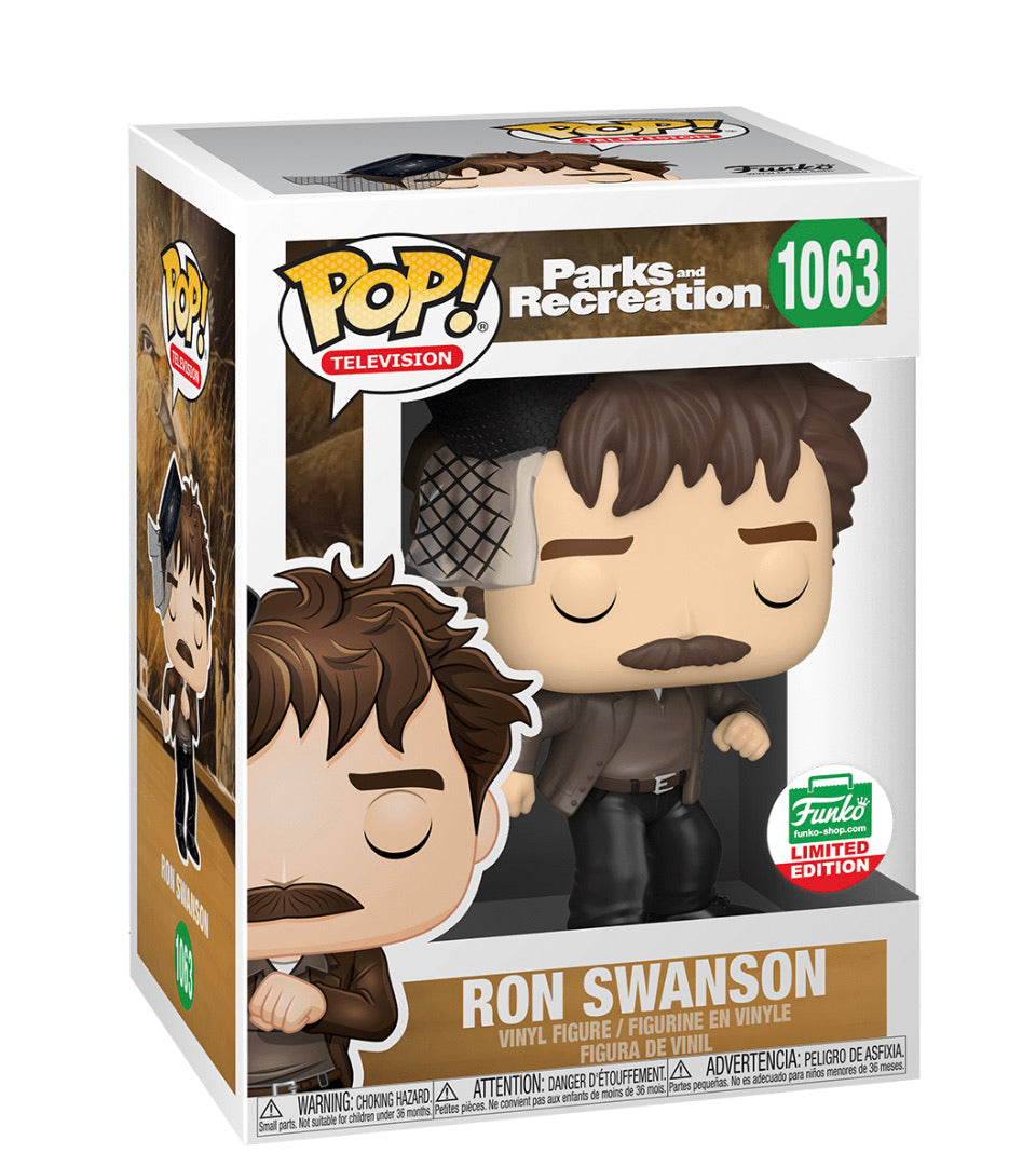 Pop! TV: Snake Juice Ron Swanson - Parks and Recreation (Funko Shop)