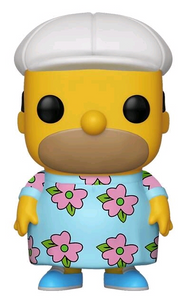 Simpsons - Homer in Muumuu US Exclusive Pop! Vinyl [RS]
