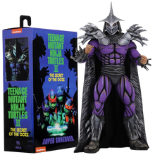 "Load image into Gallery viewer, TEENAGE MUTANT NINJA TURTLES: THE SECRET OF THE OOZE - SUPER SHREDDER DELUXE 7"" ACTION FIGURE"