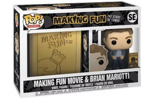 Making Fun DVD/Blue-ray and Pop! Brian Mariotti Bundle (Funko Shop) (5000pcs)