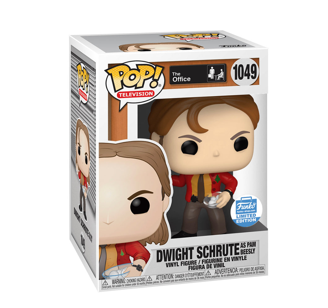 Pop! TV: Dwight As Pam With Snowballs - The Office ‪‬ (Funko Shop)
