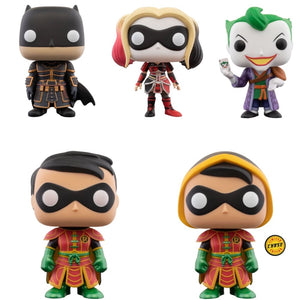 FUNKO POP! HEROES: IMPERIAL PALACE BUNDLE inc Chase