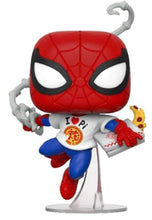 Load image into Gallery viewer, Spider-Man - Spider-Man with Pizza Pop! Vinyl Figure (RS)