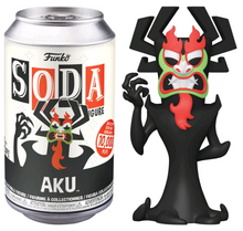 Load image into Gallery viewer, Samurai Jack - Aku 1/6 chase chance Vinyl Soda