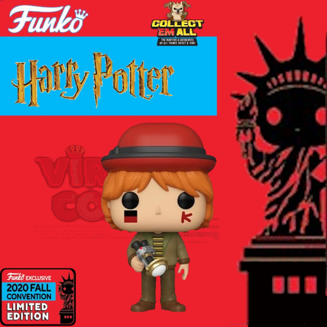 Harry Potter – Ron at World Cup NYCC 2020 US Exclusive Pop! Vinyl [RS]
