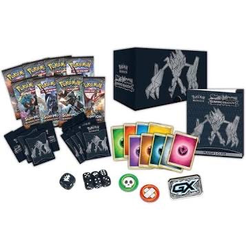 Pokemon Sun & Moon: Burning Shadows Elite Trainer Box (Necrozma)