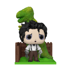 EDWARD SCISSORHANDS AND DINO HEDGE FUNKO POP DELUXE VINYL FIGURE