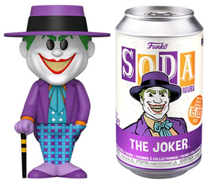 Batman (1989) - Joker (with chase) Vinyl Soda