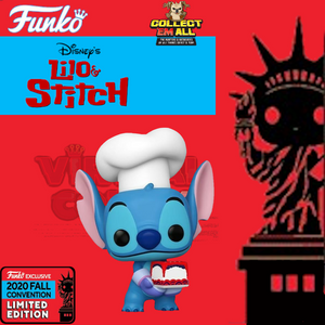 Lilo & Stitch – Stitch as Baker NYCC 2020 US Exclusive Pop! Vinyl [RS]