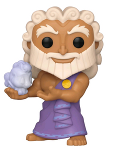 Hercules - Zeus holding Cloud Pegasus US Exclusive Pop! Vinyl [RS]