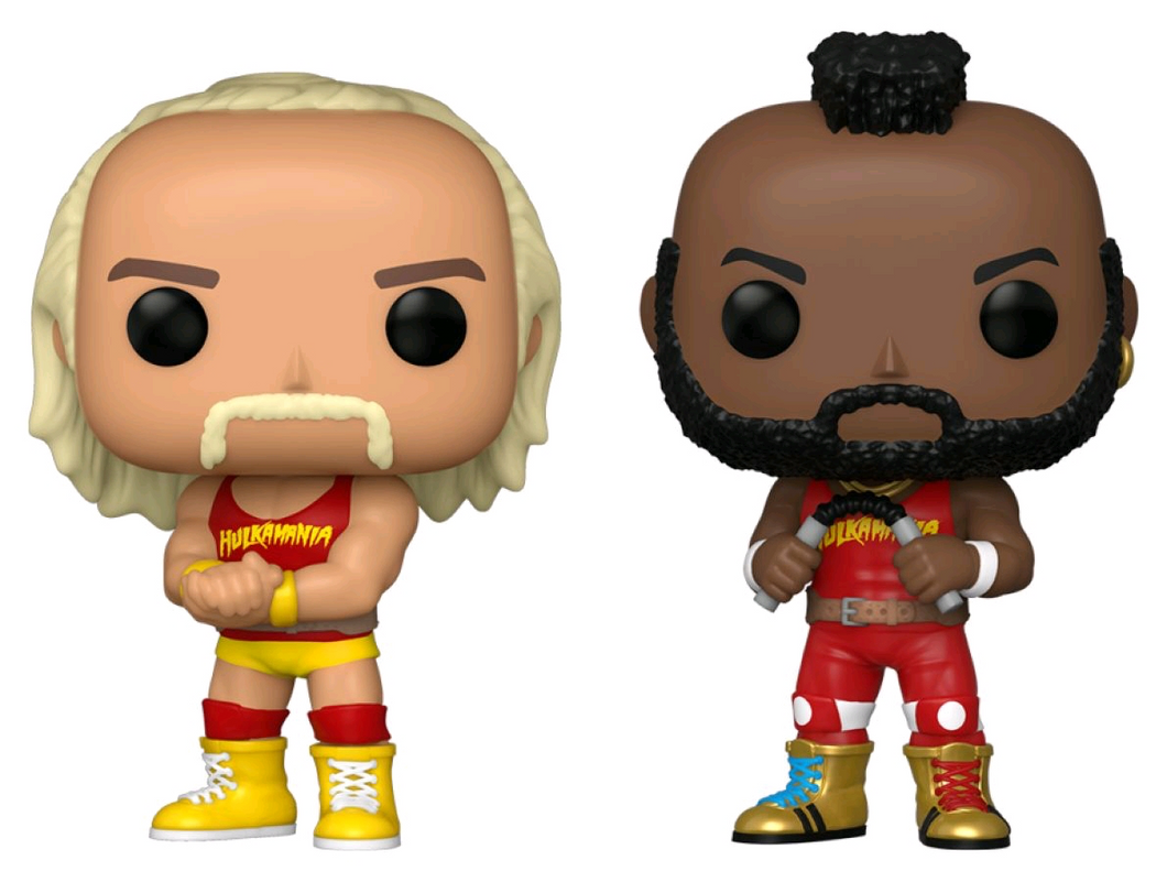 WWE - Hulk Hogan & Mr T US Exclusive Pop! Vinyl 2-pack [RS]
